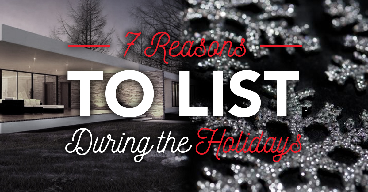 7 Reasons to List During the Holidays photo