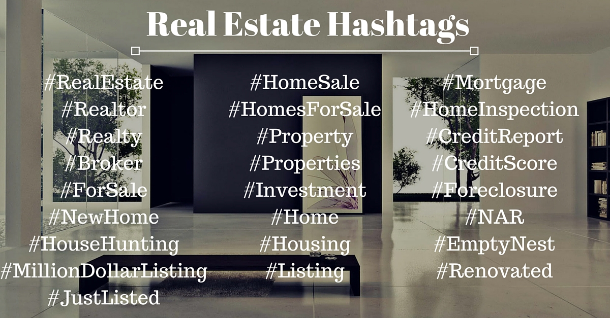 Real Estate Hastags - Tom Ferry