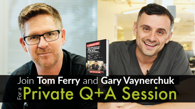 Join Me and Gary Vaynerchuk for a Private Q+A Session photo