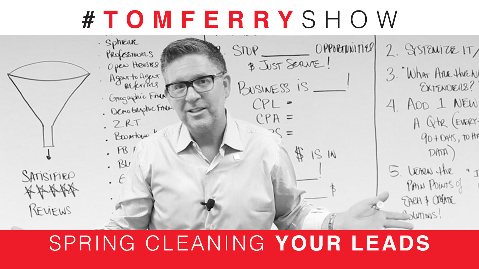 Choosing The Right Lead Generation Systems – #TomFerryShow