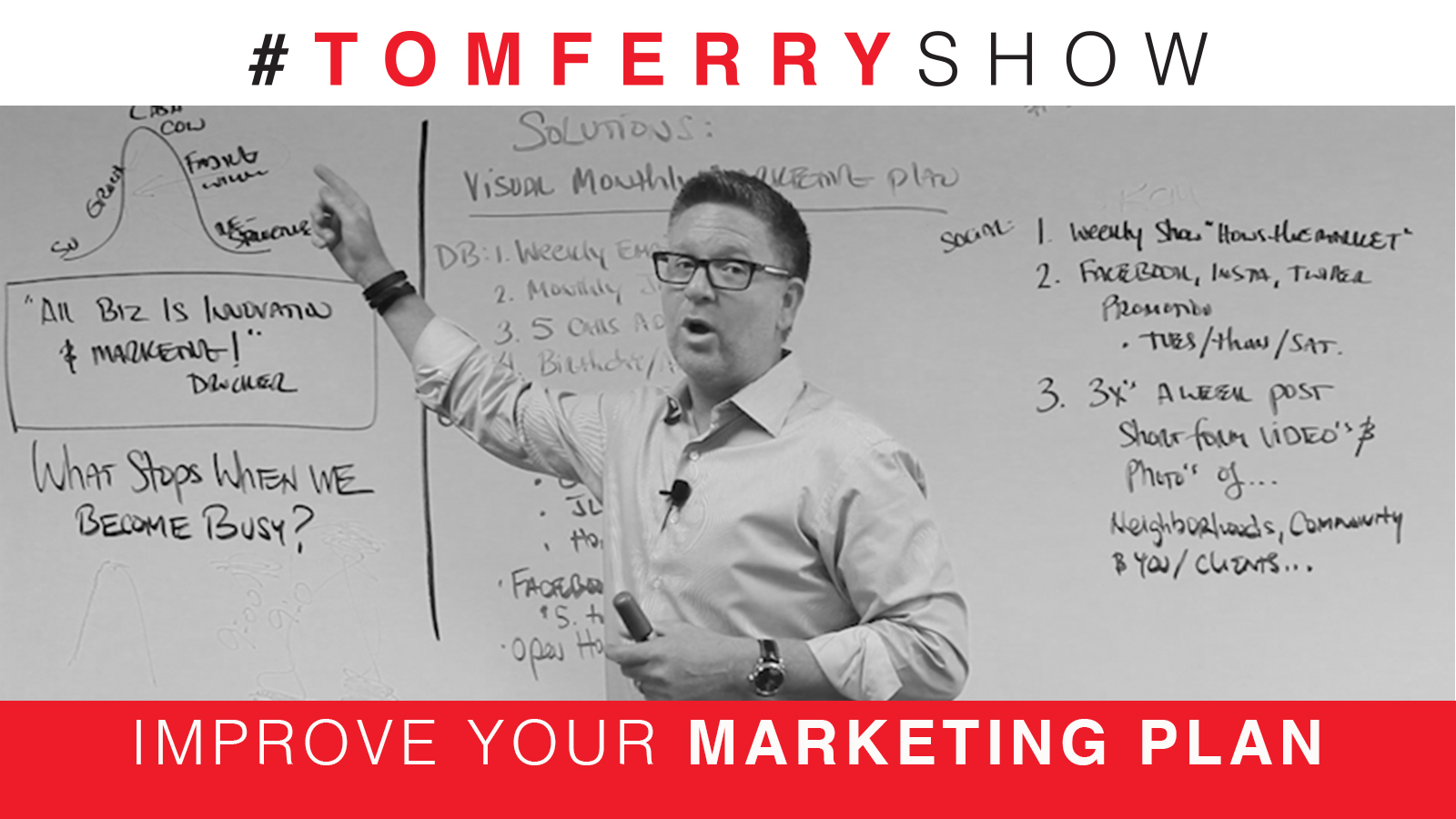 3 Proven Marketing Strategies For Growth – #TomFerryShow Episode 71