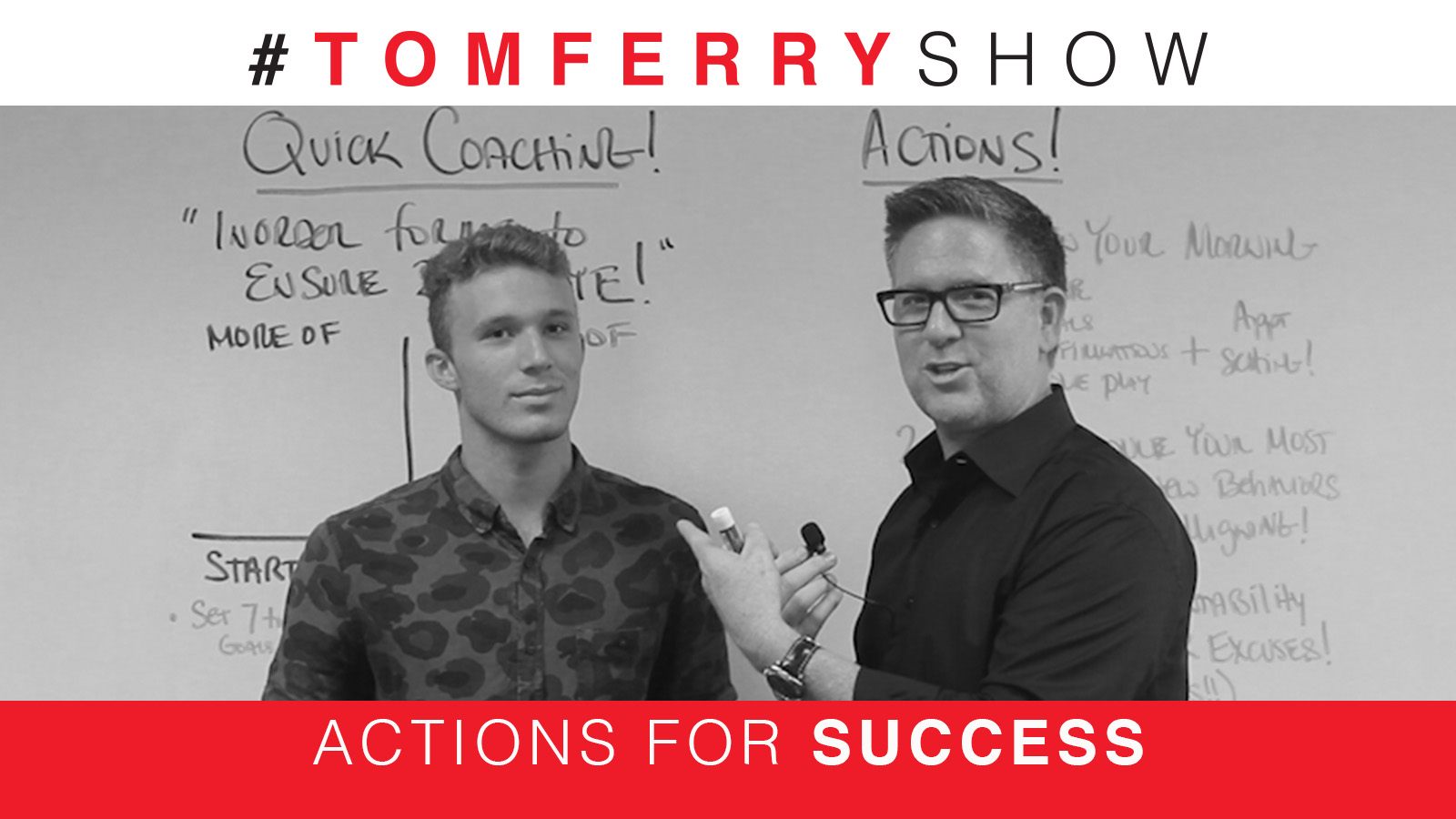 Overcoming Your Excuses With These 3 Steps – #TomFerryShow Episode 72