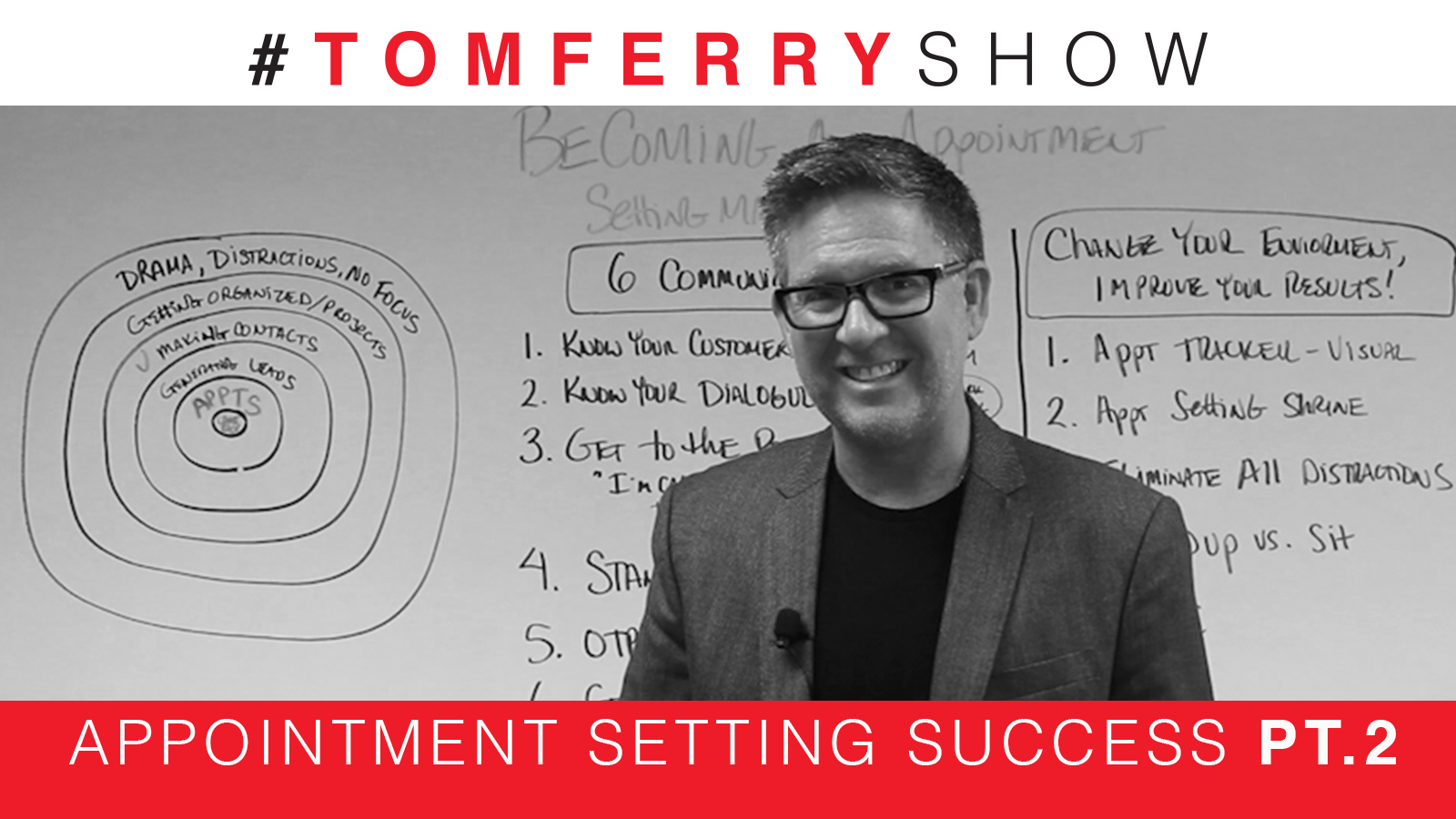 6 Tips To Schedule More Appointments On The Phone – #TomFerryShow
