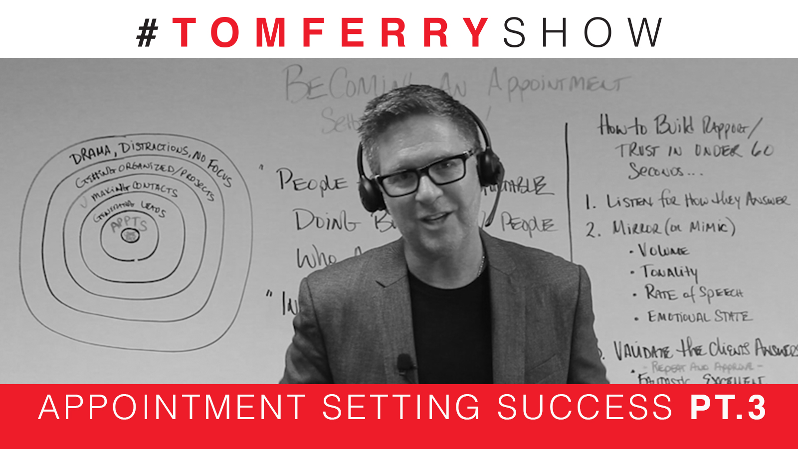 3 Easy Steps to Instant Rapport – #TomFerryShow