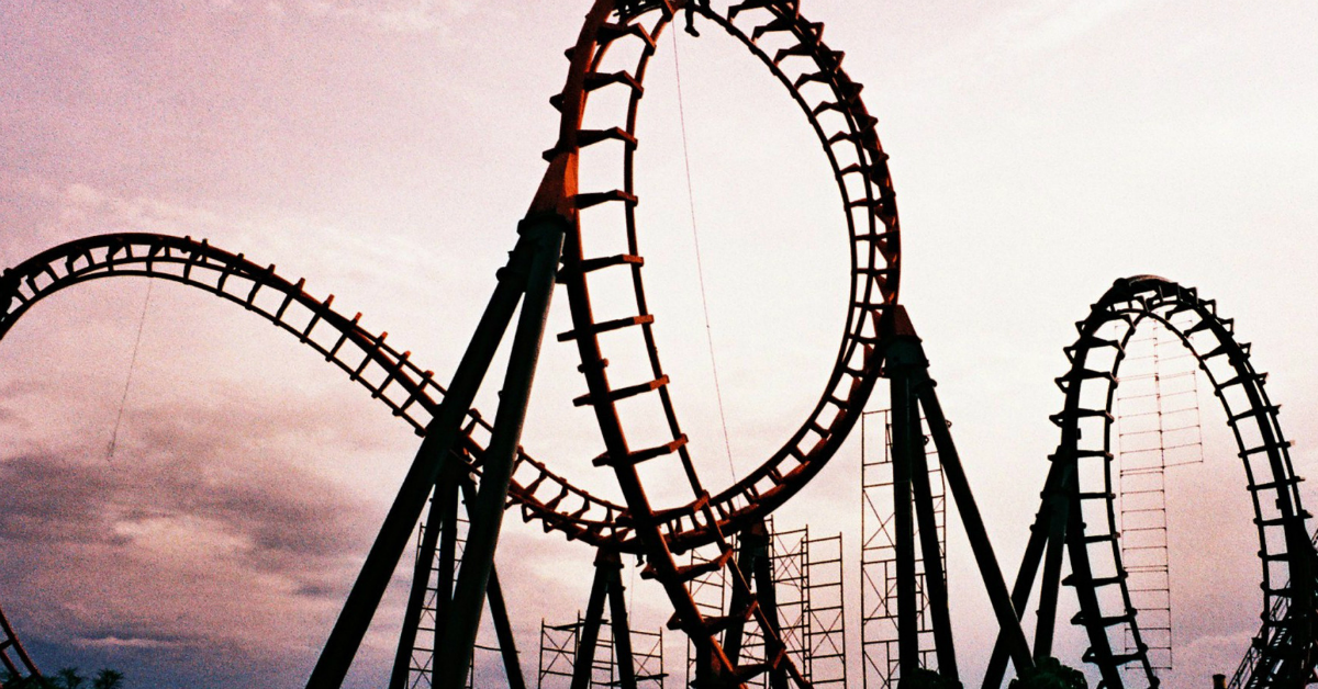 The Real Estate Agent Rollercoaster (And How To Stop the Up-and-Down Struggle)