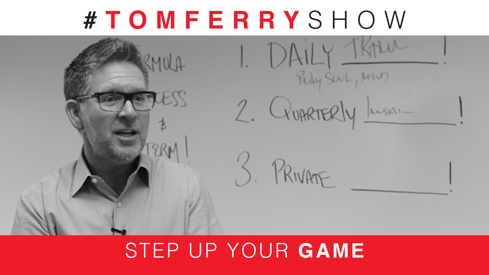 There's No Magic Formula For Success – #TomFerryShow