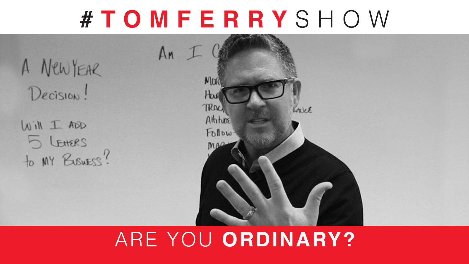 Add These 5 Letters To Your Business! – #TomFerryShow