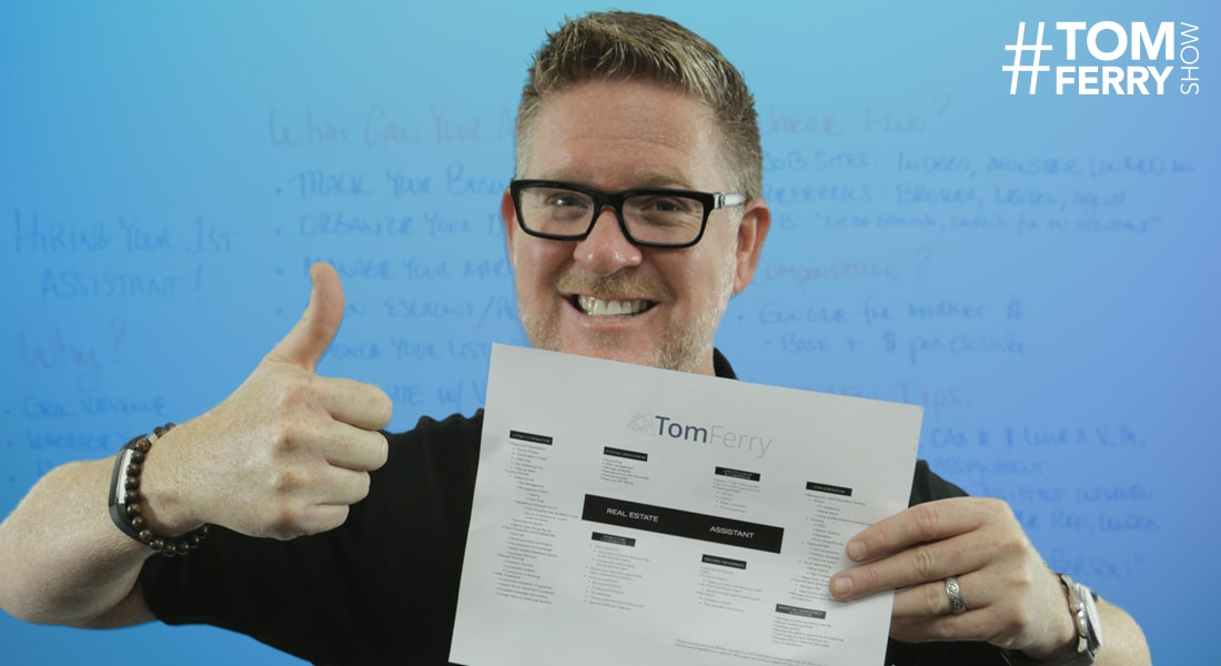 How to Hire Your First Assistant – #TomFerryShow