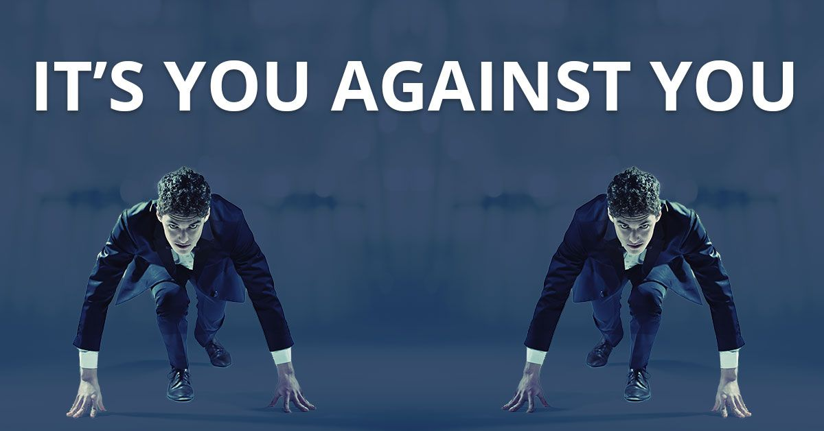 It's YOU Against YOU! photo
