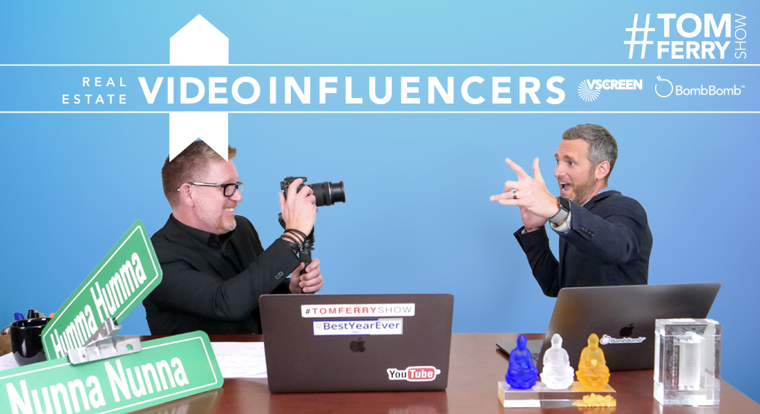 Revealing Real Estate's Top 50 Video Influencers (with BombBomb CMO Steve Pacinelli) – #TomFerryShow