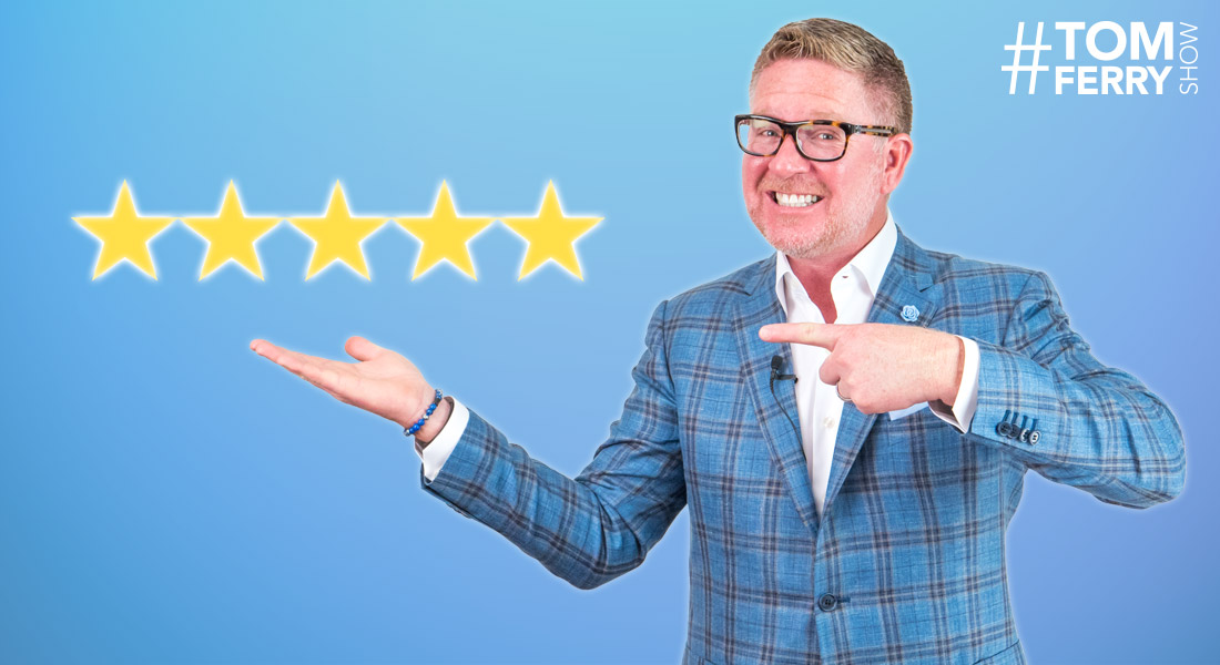 How to Capitalize on Today's Review Economy – #TomFerryShow