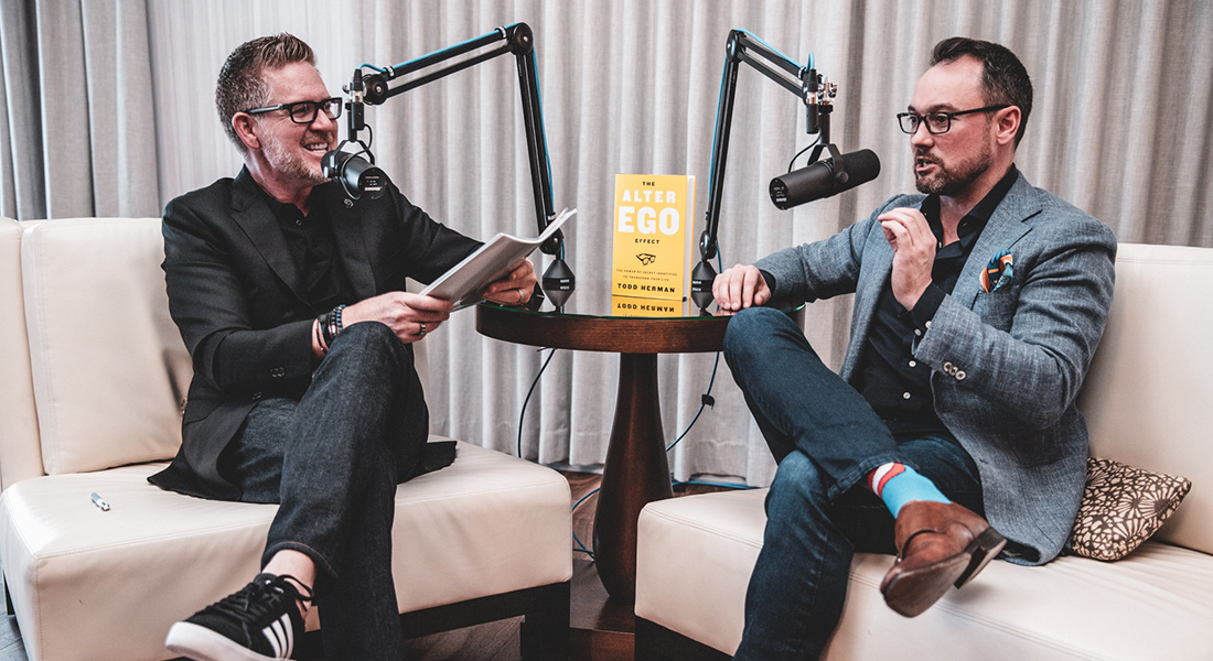 Todd Herman on Transforming Your Life with the Alter Ego Effect | Episode 8 photo