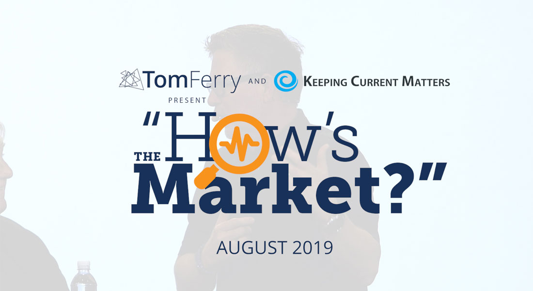 """""""How's the Market?"""" Episode 8 – August 2019"""