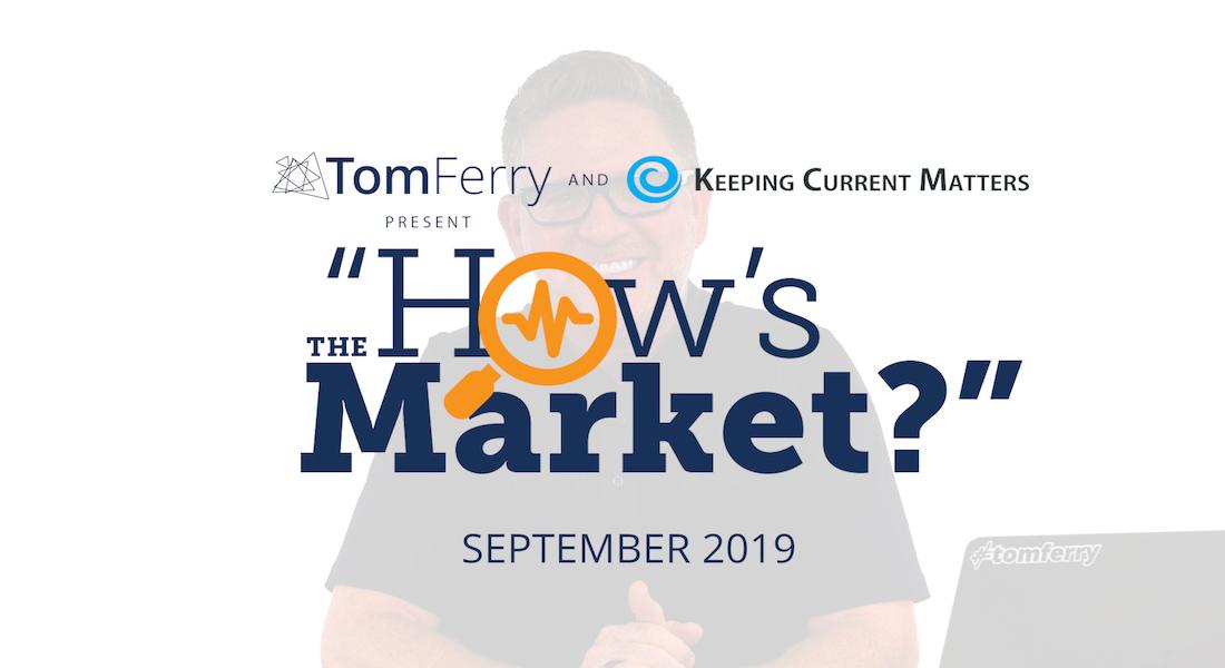 """How's the Market?"" Episode 9 – September 2019"
