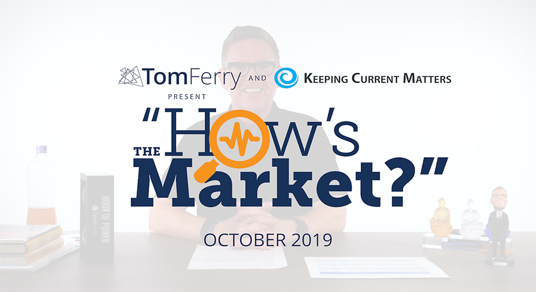 """How's the Market?"" Episode 10 – October 2019"
