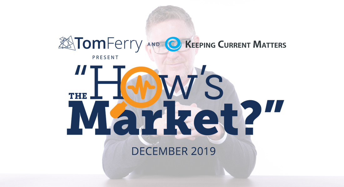 """How's the Market?"" Episode 12 – December 2019"