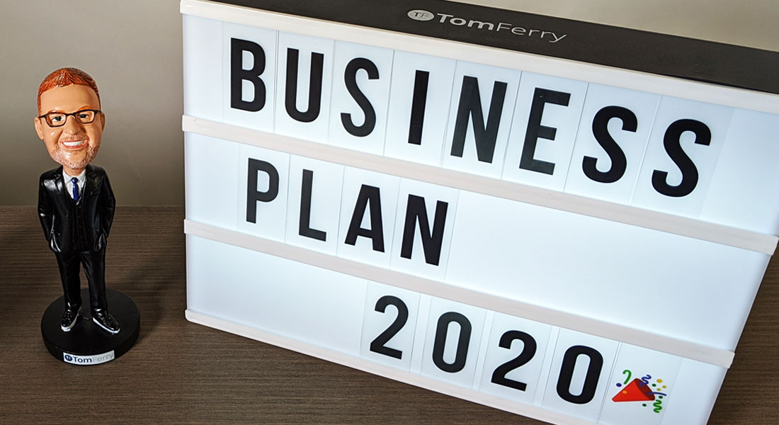 Resolutions Aren't Enough: It's Now or Never for Your 2020 Business Plan photo