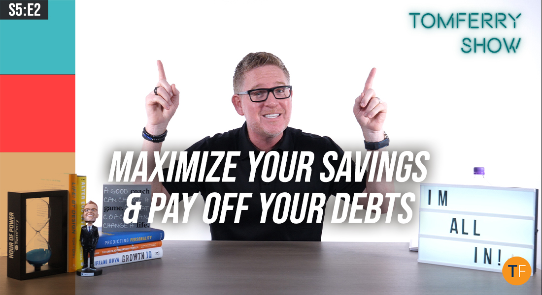 Achieving Financial Freedom Begins with Knowing These 6 Crucial Numbers – #TomFerryShow