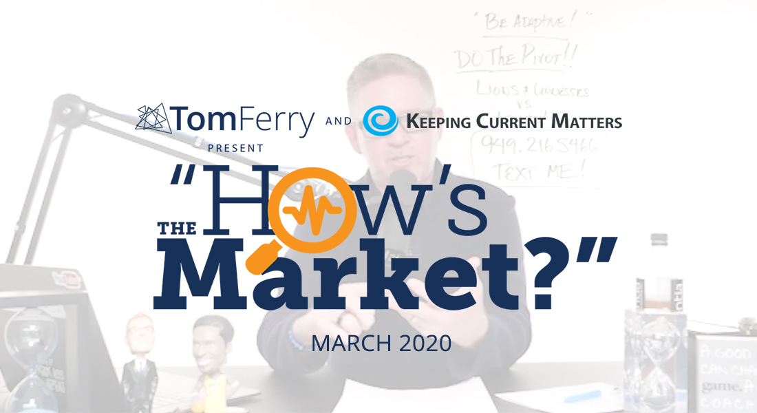 """""""How's the Market?"""" Episode 15 – March 2020"""