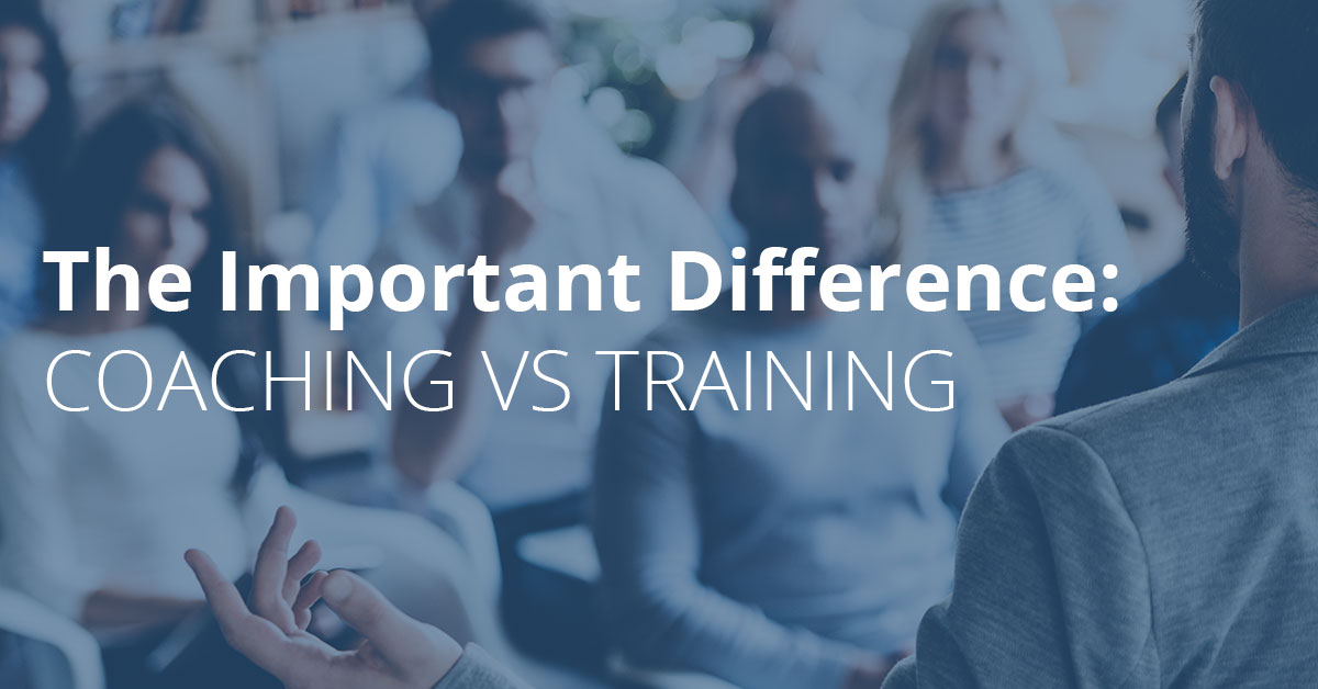 Coaching and Training – What's The Difference?