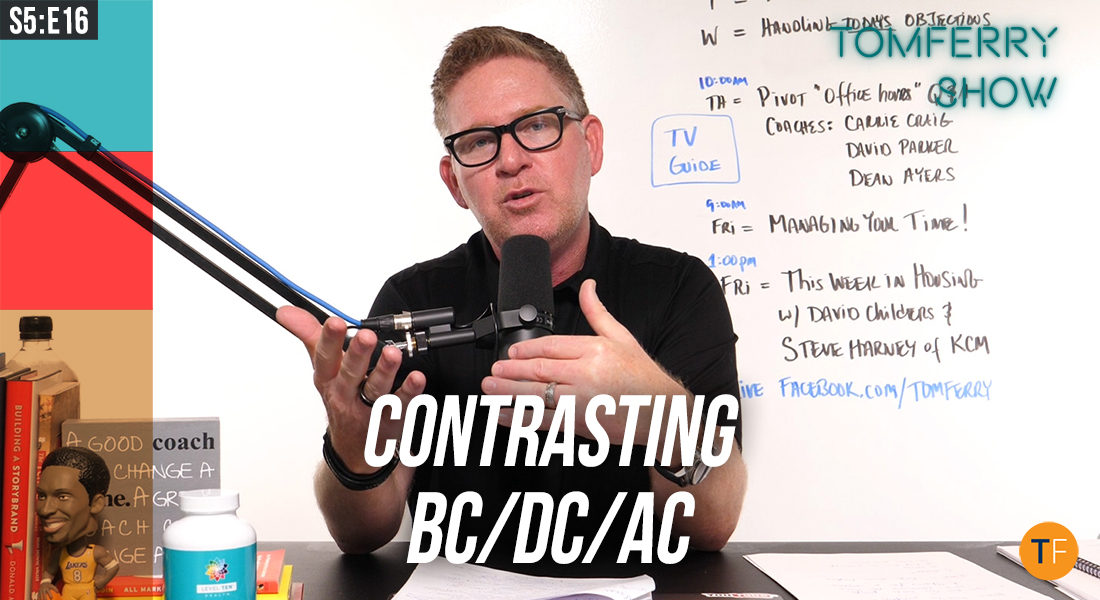 How to Prepare Now for AC (After COVID) while We're Still in DC (During COVID) – #TomFerryShow