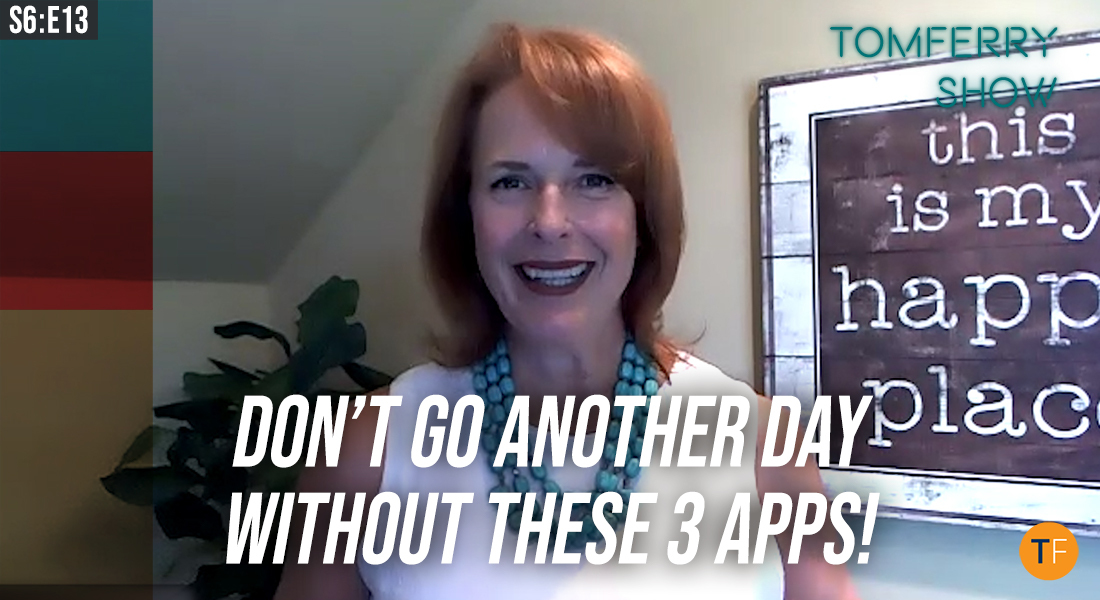 3 Killer Real Estate Productivity Apps You Should Install Right Now – #TomFerryShow