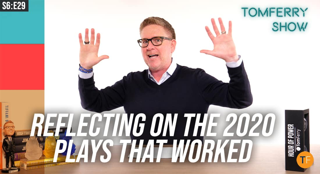 How to Make 2020 the Beginning of a Beautiful Run – #TomFerryShow
